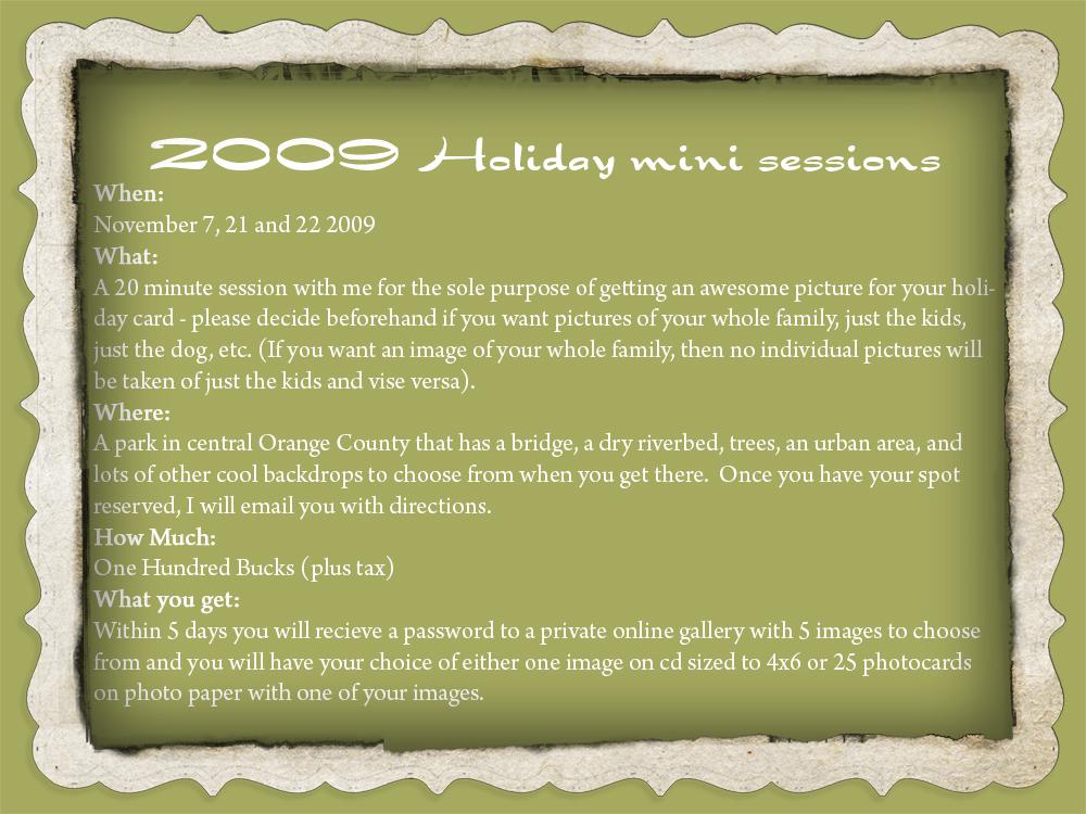 2009 mini session2